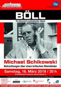 Heinrich Böll, Literaturveranstaltung @ Kulturbahnhof Overath